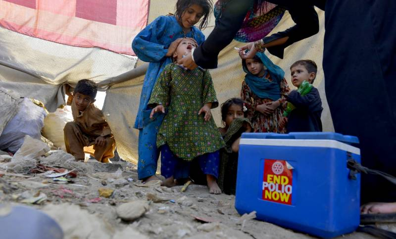 12-day special anti-polio drive begins in Kohistan tomorrow