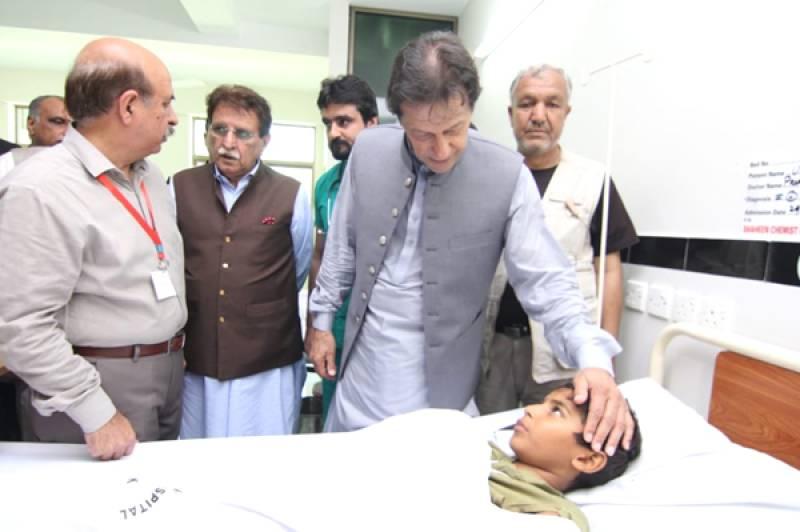 PM Imran visits quake-hit Mirpur, announces aid package for AJK