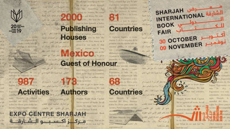 Nobel laureates and Oscar Winners will headline Sharjah International Book Fair 2019