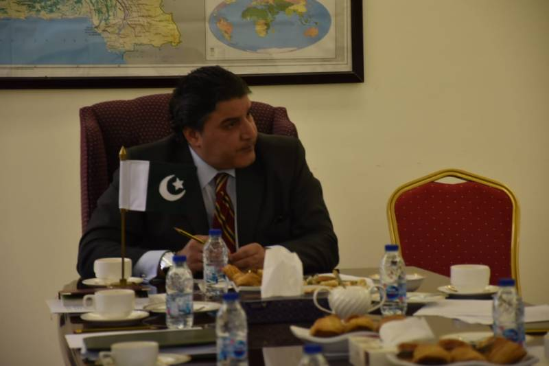 Pakistani envoy Raja Ali Ejaz exposes rights violations in occupied Kashmir