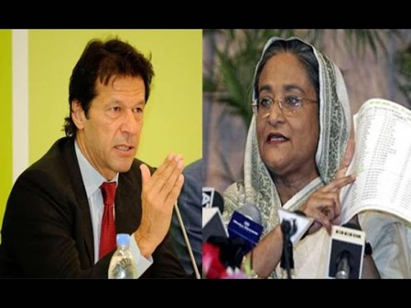 PM Imran telephones Bangladesh's Premier Hasina Wajid