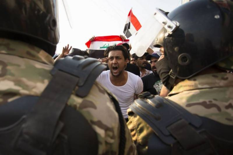 Curfew imposed in Baghdad amid anti-government protests