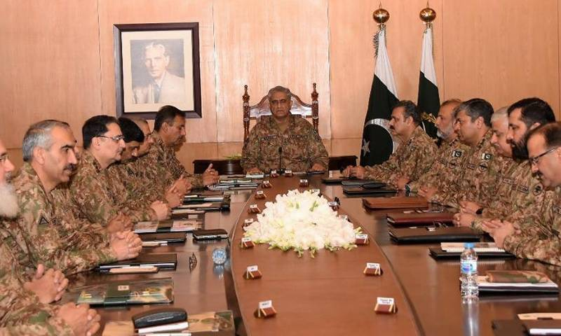 No compromise on Kashmir, reaffirm Pakistan's top commanders