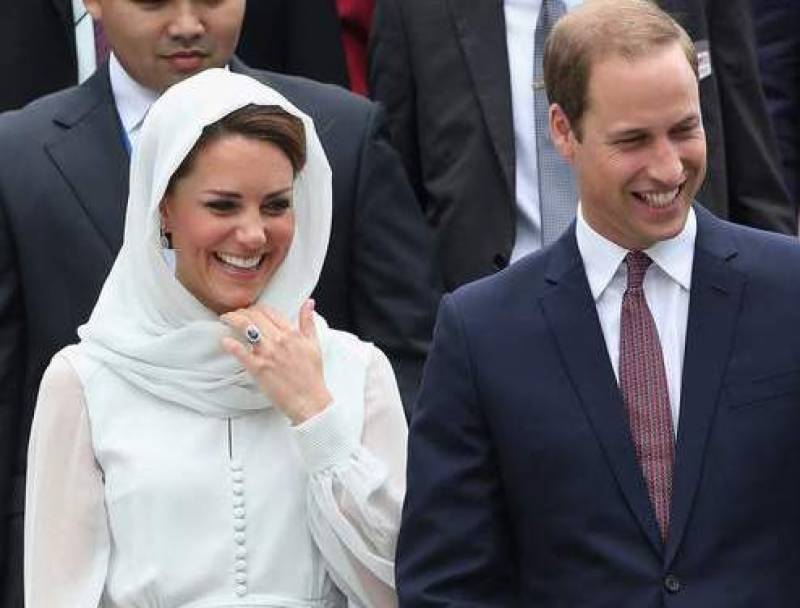 British royal couple seeks building 'lasting friendship' with Pakistan in first official visit