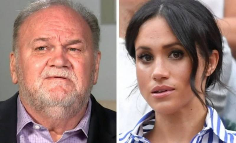 Meghan Markle's father speaks out on releasing private letter