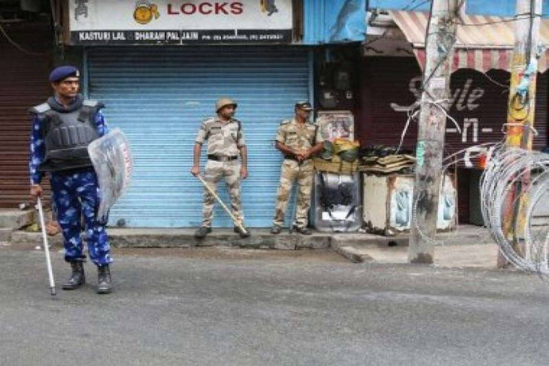 Occupational troops martyr youth in IoK on 65th day of Indian lockdown