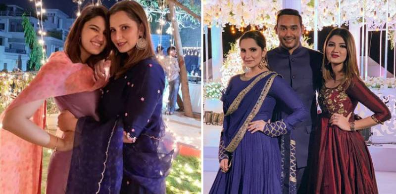 Sania Mirza's sister to tie knot with former cricketer Azharuddin's son