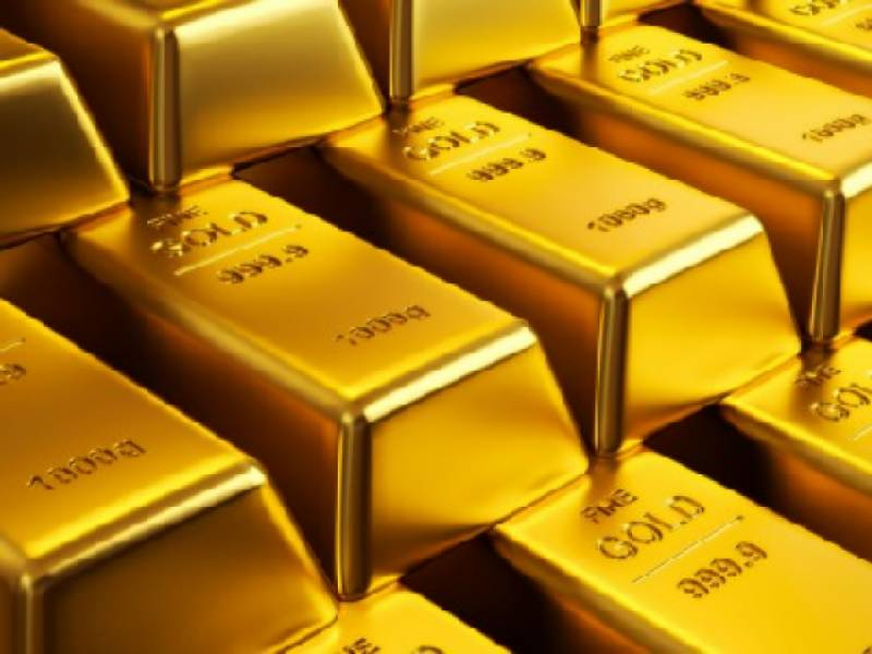Gold price slides Rs200, traded at Rs87,200 per tola