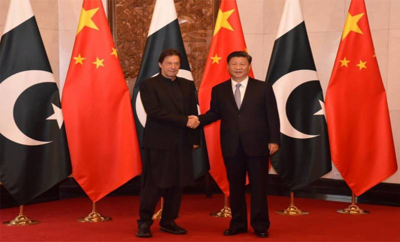 PM Imran meets China's President Xi in Beijing