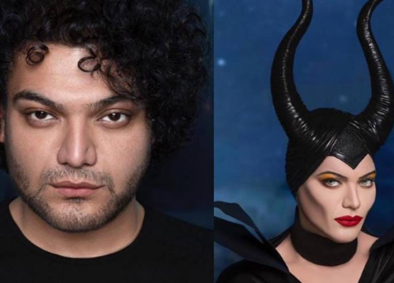 This Pakistani makeup artist recreates Angelina Jolie's Maleficent look to perfection