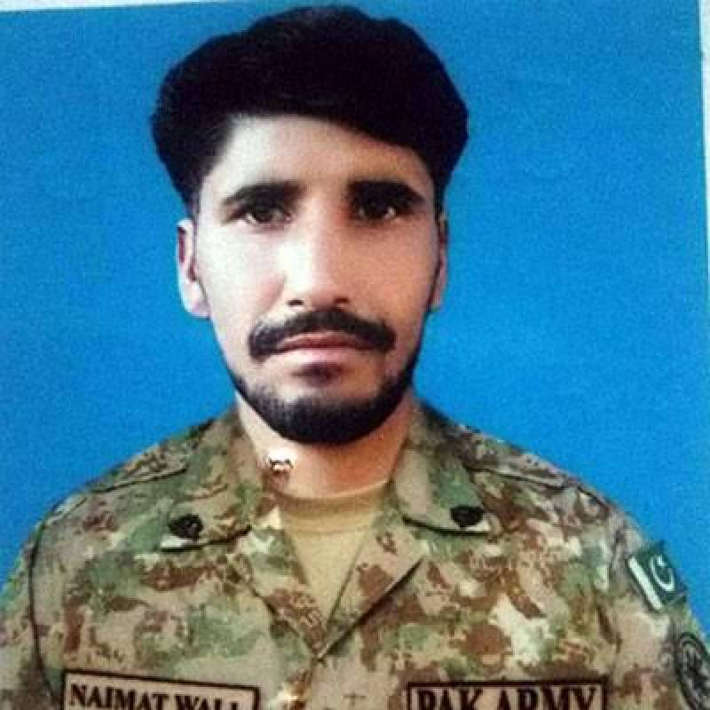 Sepoy Naimat Wali martyred, civilians injured in unprovoked firing by Indian troops across LoC
