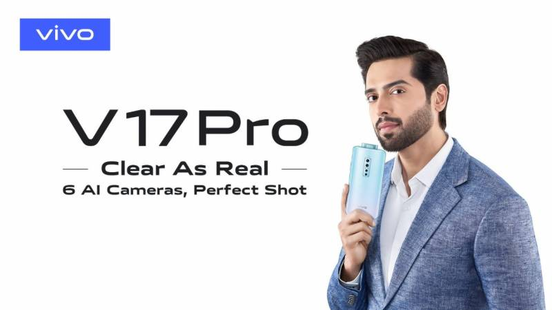 Vivo Launches much anticipated V17 Pro with 'Dual Pop-Up Selfie Camera' in Pakistan