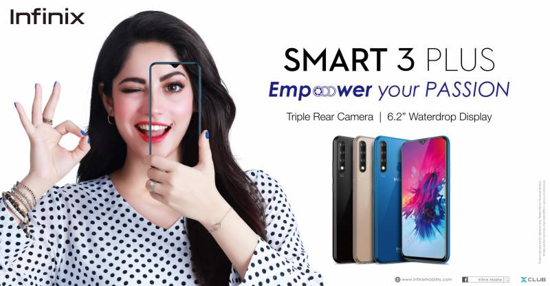 Hottest selling Infinix Smart 3 plus now available at exciting Rs 15,500