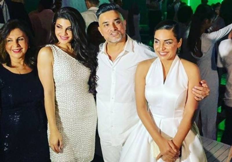 Meera parties with Jacqueline Fernandez in Dubai