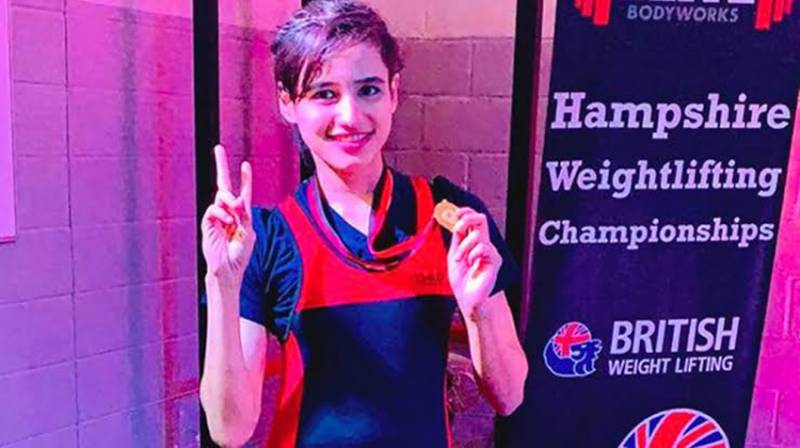Pakistan's Rabia claims gold in Hampshire Weightlifting Championship