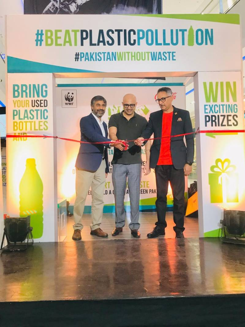 WWF-Pakistan launches campaign to tackle plastic pollution