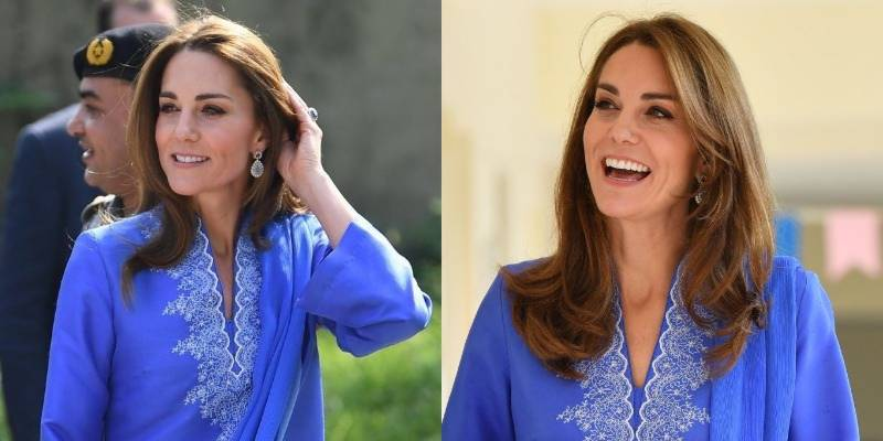Duchess of Cambridge Kate wears traditional outfit and Pakistanis love it