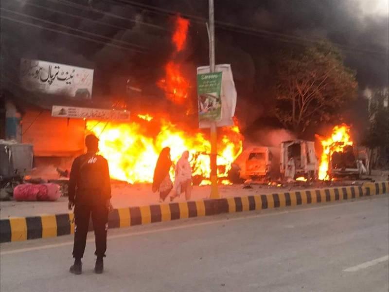 Policeman martyred, 10 injured in Quetta blast
