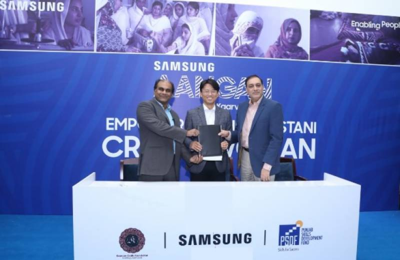 Samsung steps up to empower Pakistani craftswomen through Aangan
