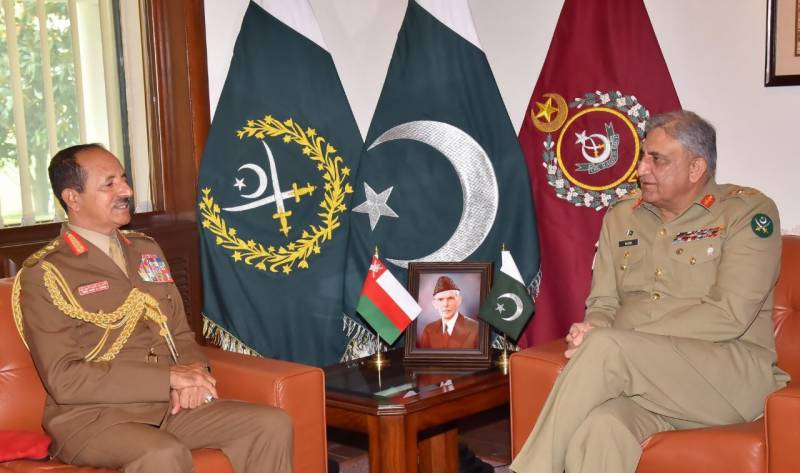 Top Omani general lauds Pakistan Army's achievements in fight against terrorism