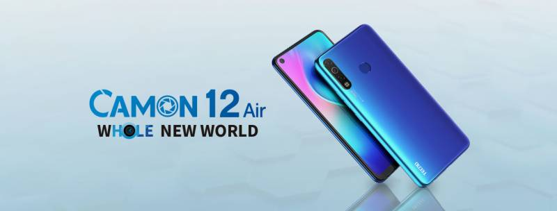 Tecno Mobile finally announces release date of much-awaited Camon 12 Air