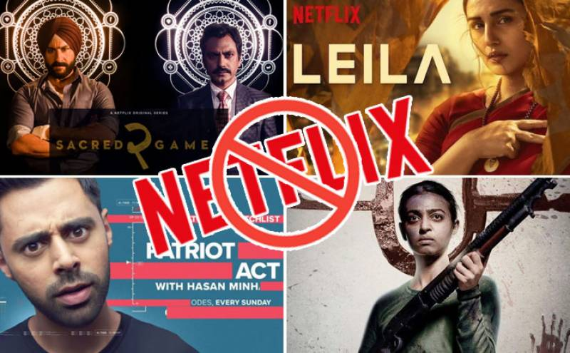Streaming giant Netflix faces ban in India