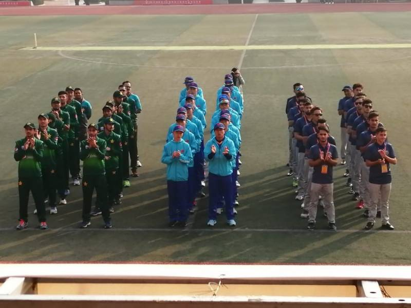 Afghanistan-China mixed team beat Pakistan-China team by 6-wickets in friendly cricket match