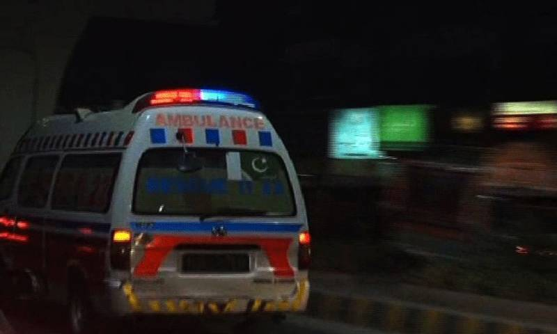Nine killed as ambulance hits trailer in Mianwali