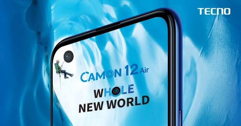 Tecno puts most awaited Camon 12 Air online for sale