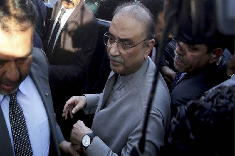Fake accounts case: NAB court extends remand after Asif Zardari shifted to hospital