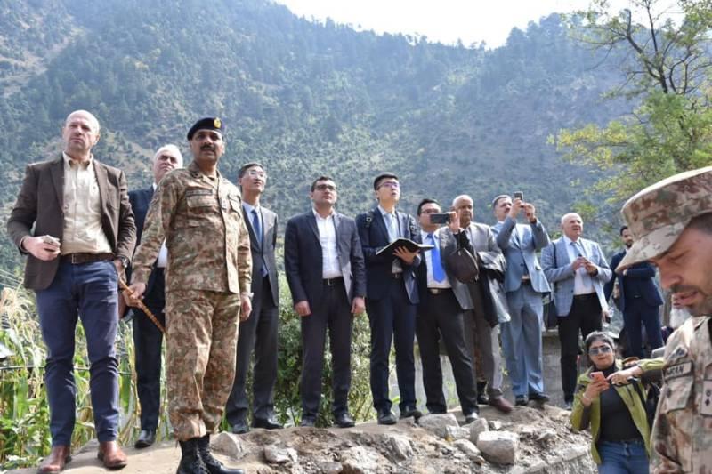 Indian lies exposed as Pakistan takes diplomats to LoC
