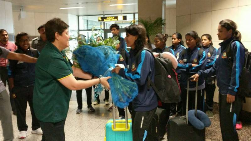 Bangladesh women cricket team arrives in Lahore to play ODIs, T20 matches against Pakistan