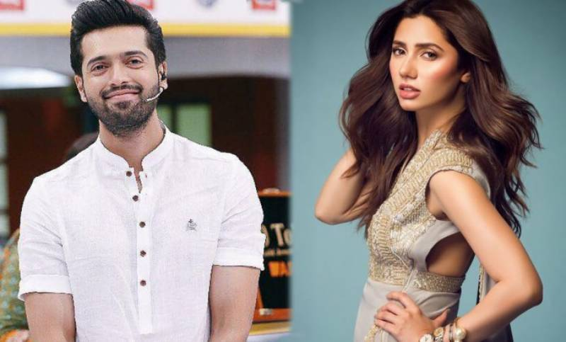 Mahira Khan, Fahad Mustafa team up for a new film