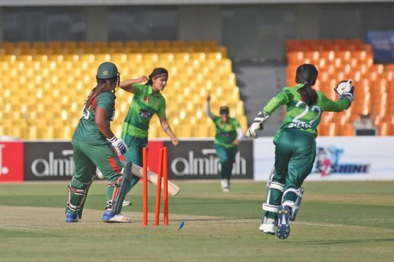 Pakistan Women beat Bangladesh in first-ever international match at Gaddafi Stadium