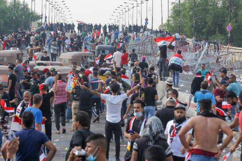 Death toll rises to 63 in Iraq protests