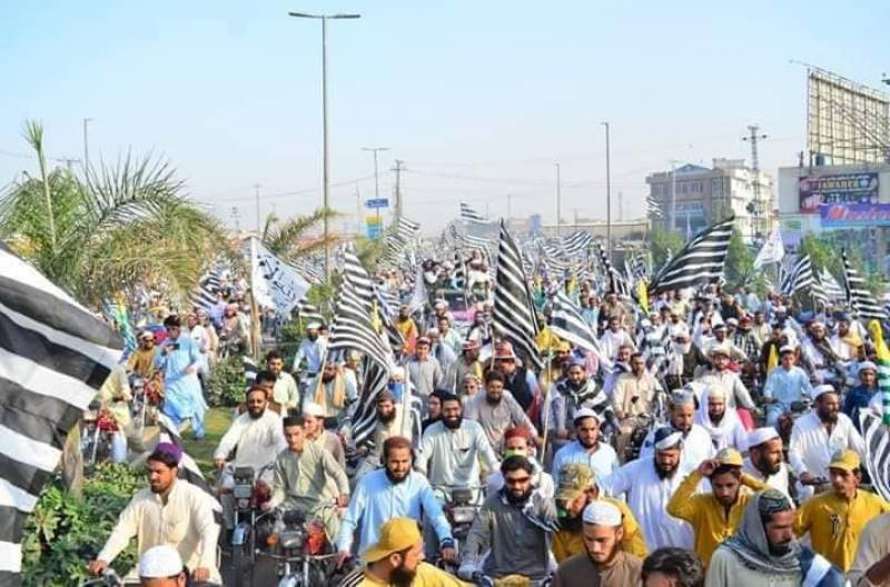 JUI-F kicks off Azadi March from Karachi