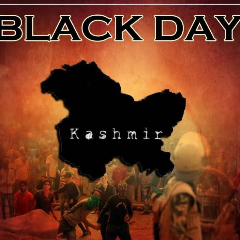 Kashmiris observing Black Day today on both sides of LoC and world over