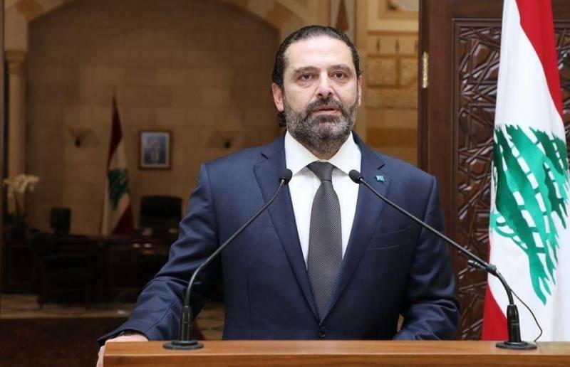 Lebanon's PM Hariri steps down amid massive protests