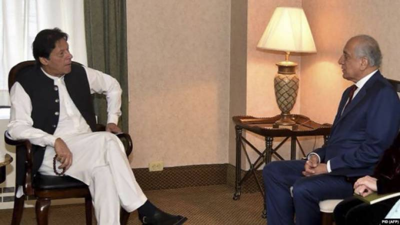 US special envoy calls on PM Imran to discuss Afghan peace, reconciliation process
