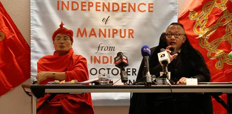 Manipur state leaders announce independence from India