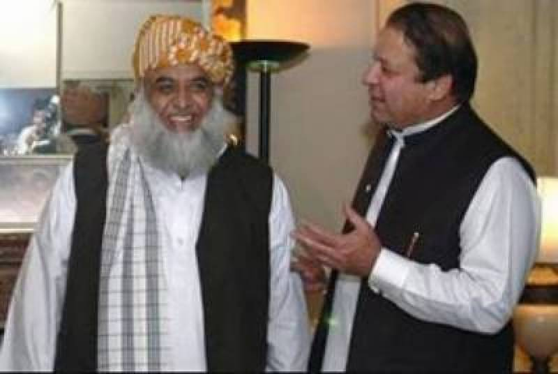 Maulana Fazlur Rehman to meet Nawaz Sharif at Lahore Hospital today