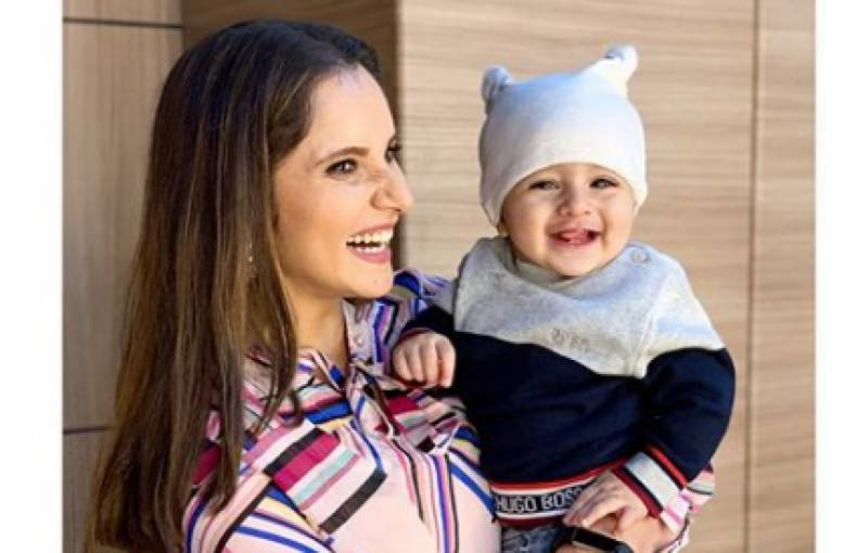 Sania Mirza shares a heartfelt note for her baby boy's first birthday