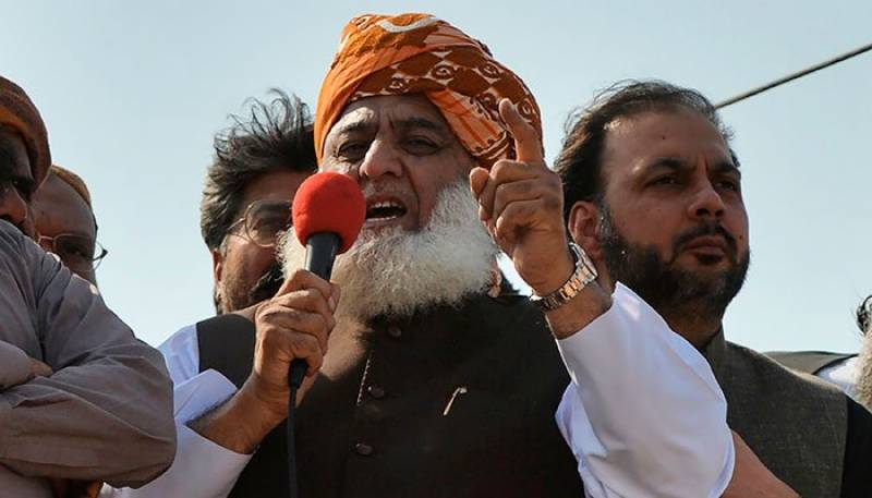 'Will send govt home,' vows Fazl as Azadi March heads to Islamabad