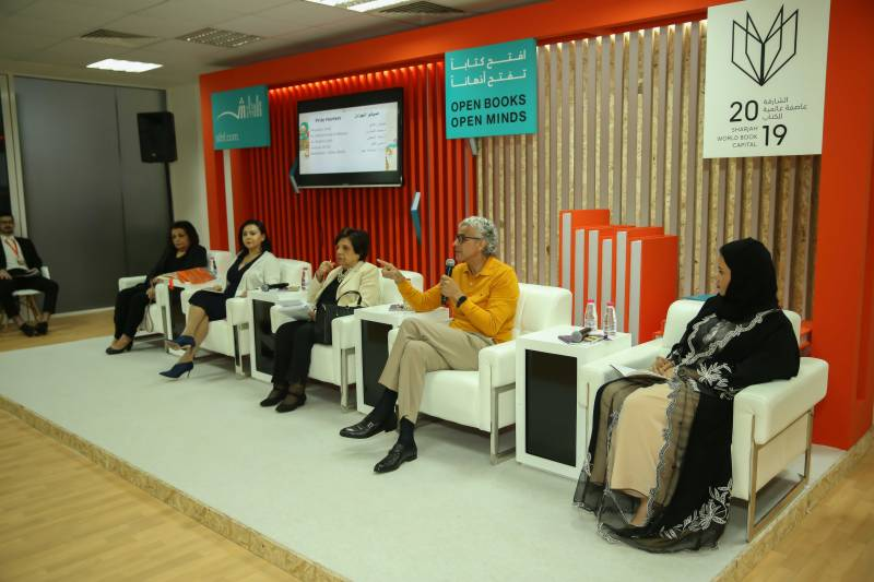 Arab literary authors debate concept of 'Prize Hunters' at SIBF 2019