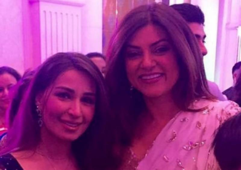 Reema Khan, Sushmita Sen rub shoulders at charity event