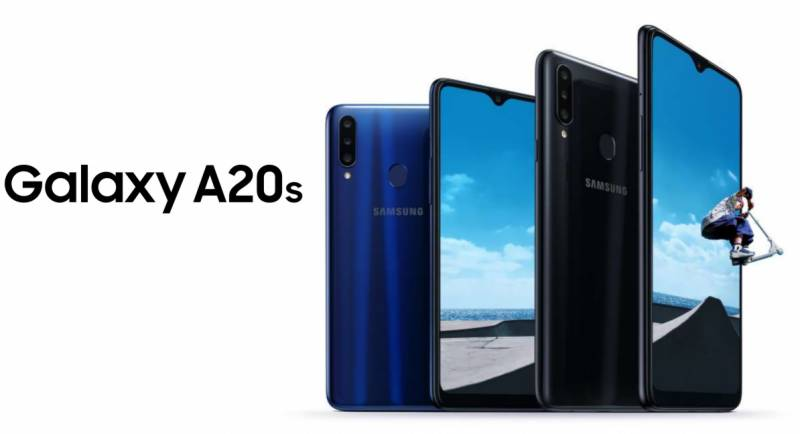 Samsung launches Galaxy A20s with triple rear camera in Pakistan