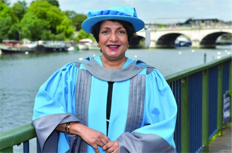 UBL President & CEO awarded Honorary Doctorate by Kingston University