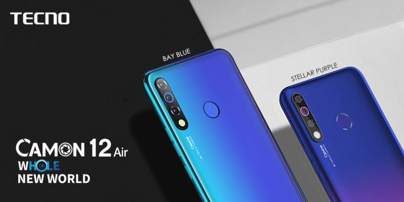 Camon 12 Air now available in mobile markets all across Pakistan