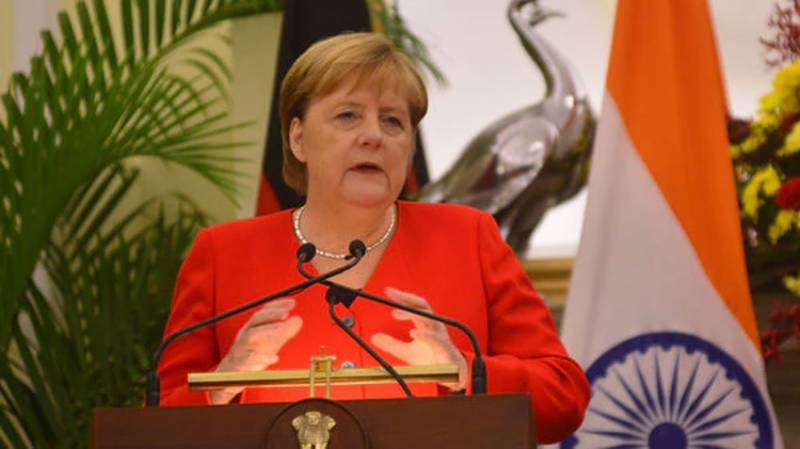 German Chancellor voices concern over lockdown, HR violations in IOK