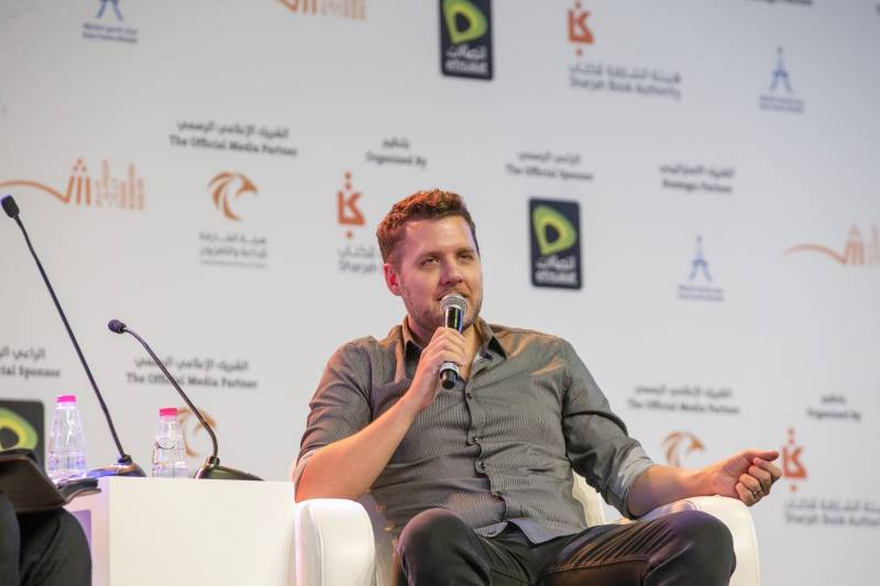 Set goals what can make you happy, says Mark Manson at SIBF 2019